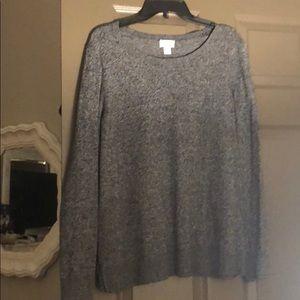 Long sleeve oversized sweater